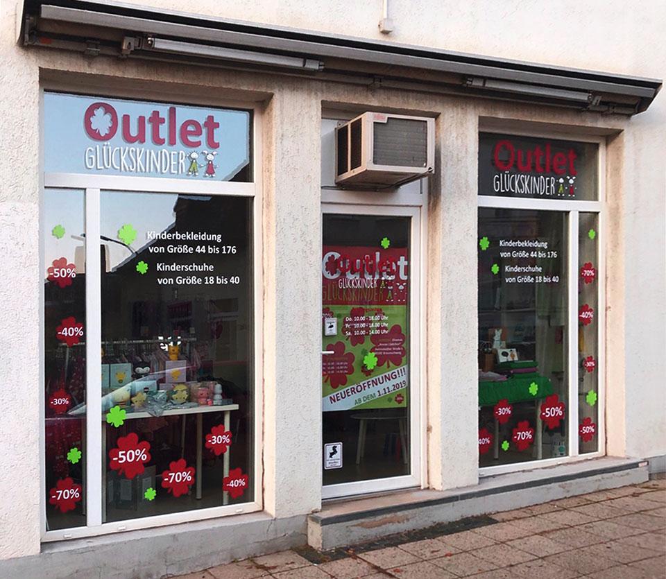 Glückskinder-Outletstore, Helmstedter Straße 6, 38102 Braunschweig