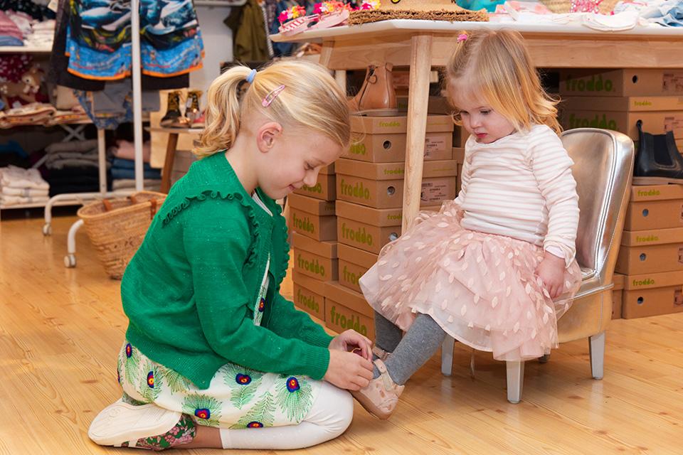 Hübsche Schuhe für Kleinkinder