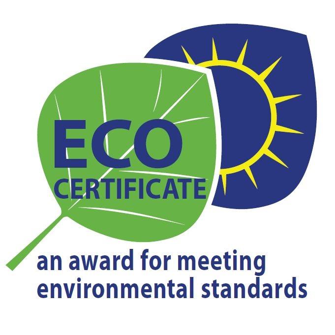 Viele Qualitätsprodukte mit ECO certificate Siegel